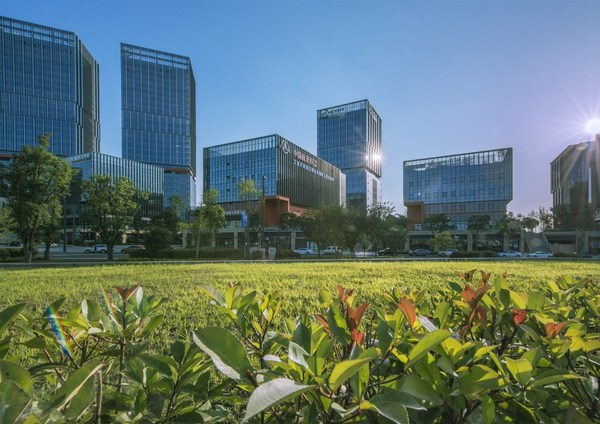 "Chengdu Tianfu New Area is the birthplace of a new urban development concept named ""park city,"" where people's livelihoods, urban construction, the environment and industrial development are balanced."