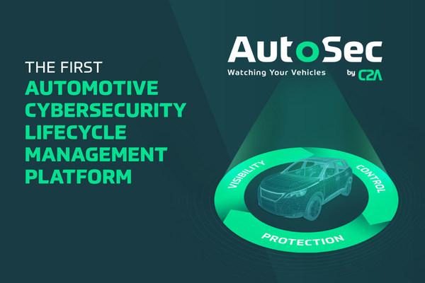 C2AセキュリティがAutoSecをリリース 設計から廃車まで車を監視保護する史上初の自動車サイバーセキュリティの ライフサイクル管理プラットフォーム