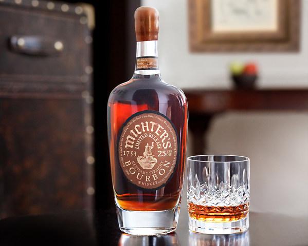 酩帝诗宣布三年来首次灌装25年波本威士忌