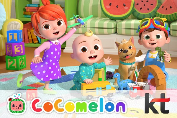 Moonbug and KT Partner to Bring Global Sensation CoComelon to Families Across South Korea