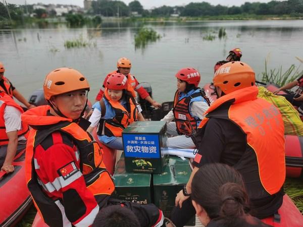 2020年壹基金救灾145次,2327人次志愿者参与