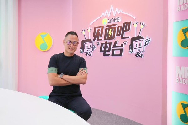 騰訊音樂娛樂集團副總裁侯德洋(Dennis Hau)