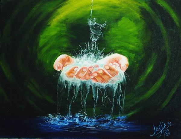 口と足で描く芸術家協会(MFPA)が「世界手洗いの日」に特別メッセージ発信