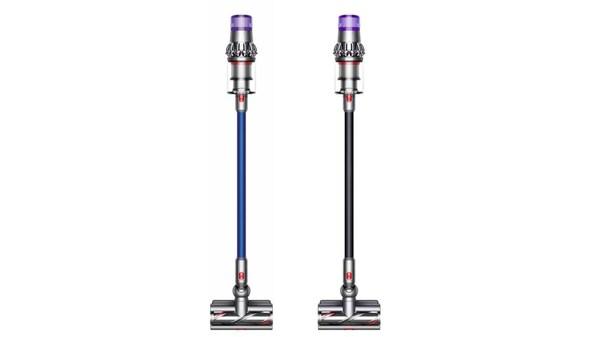 戴森V11 Absolute Extra无绳吸尘器(左)及全新黑色限量款戴森V11 Complete Extra无绳吸尘器(右)
