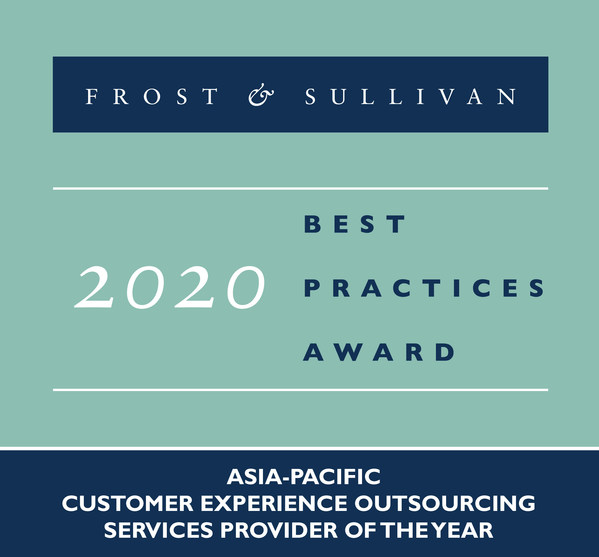 Frost & Sullivan recognizes Teleperformance for the ninth consecutive year with the Asia-Pacific Customer Experience Outsourcing Services Provider of the Year Award