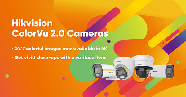 HikvisionがColorVu 2.0カメラを発表- 4Kと可変焦点のオプションも