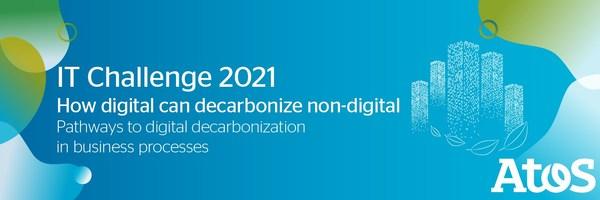 Atos推出了2021年数字化脱碳IT挑战赛