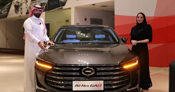 GAC MOTORがサウジアラビア王国で全く新しい主力車種のGA8を発表