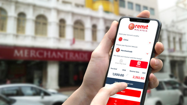Merchantrade to facilitate real-time remittances to Alipay users in China, with funds reaching bank accounts linked to their Alipay app.