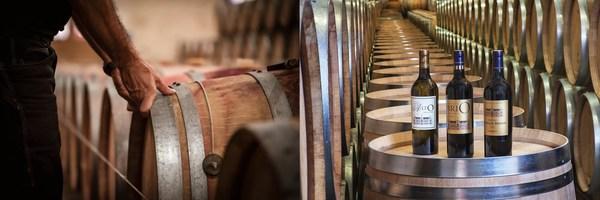 肯德布朗酒庄 酒窖及三款佳酿