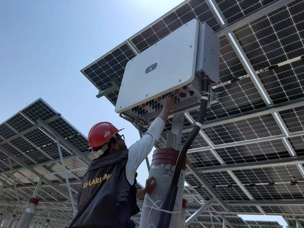 The largest solar power plant in Bangladesh connected to the grid with Huawei Smart PV Solution