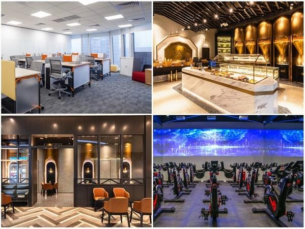 ATLAS 寰图办公空间,给职场人提供工作与生活相融合的办公环境