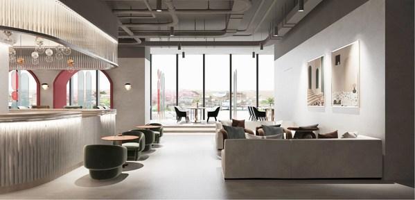 顺丰创新中心休闲空间规划示意图