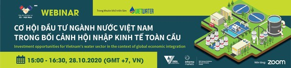 Informa Markets (Vietnam) and VWSA launch webinar on Investment opportunities for Vietnam's water sector in the context of global economic integration
