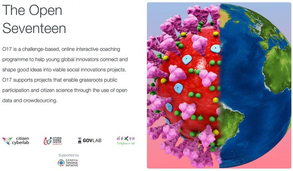"The Open Seventeen (""O17"") is a challenge-based, online interactive coaching programme to help young global innovators connect and shape good ideas into viable social innovations projects."