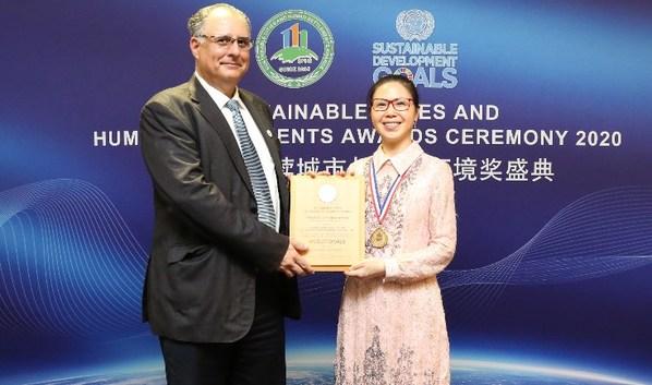 Forest City đã được trao danh hiệu mô hình toàn cầu về bảo vệ môi trường sinh thái ven biển, qua đó giành giải thưởng SCAHSA lần thứ 5 liên tiếp