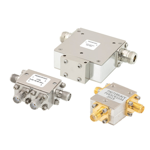 Pasternack Releases New Line of High-Performance RF Circulators/Isolators