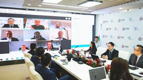 千城攻略TCSA在RBWC's IMF/World Bank 年會做「國家級經濟大腦構建方案」的報告