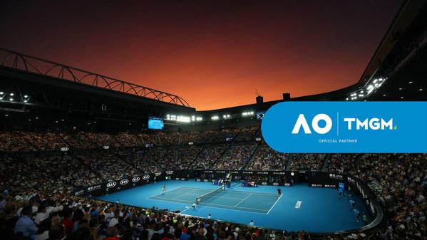 TMGM เข้าสู่สนามกีฬาด้วยการเป็นผู้สนับสนุนออสเตรเลียนโอเพ่น