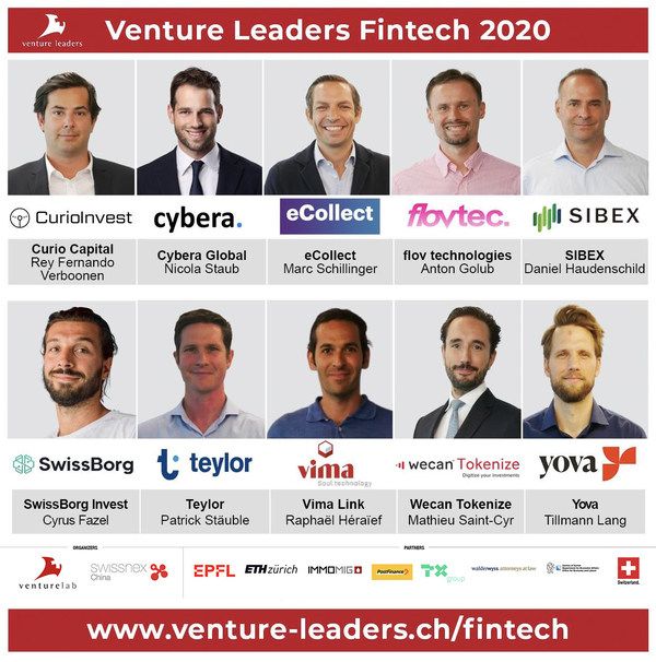 Venture Leaders Fintech winners 2020