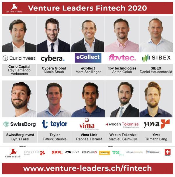 Venture Leaders Fintech winners 2020