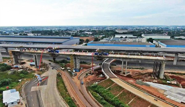 More than 500 SANY machines are working on the Jakarta-Bandung high-speed railway project