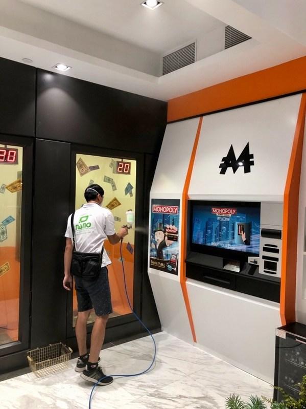 大富翁夢想世界™場館內外,均採用了日本納米極級保護塗層納米觸媒24小時無菌方案。