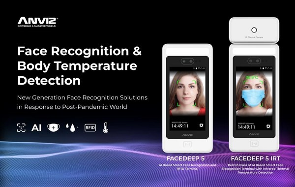 Anviz Launches New Generation Face Recognition Solutions in Response to Post-Pandemic World