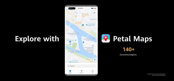 Cùng khám phá với Petal Maps