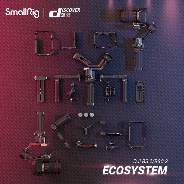SmallRig announces accessories for DJI RS 2/RSC 2 ecosystem