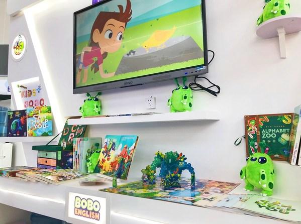 新东方KIDS+首个在线AI启蒙课程产品BOBO英语首次公开亮相