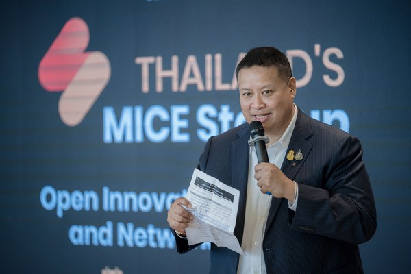 TCEB Launches the Third Edition of 'Thailand MICE Startup' Competition to Strengthen MICE Innovation.