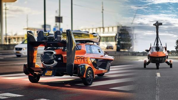 Flying Car PAL-V Liberty Road Admission