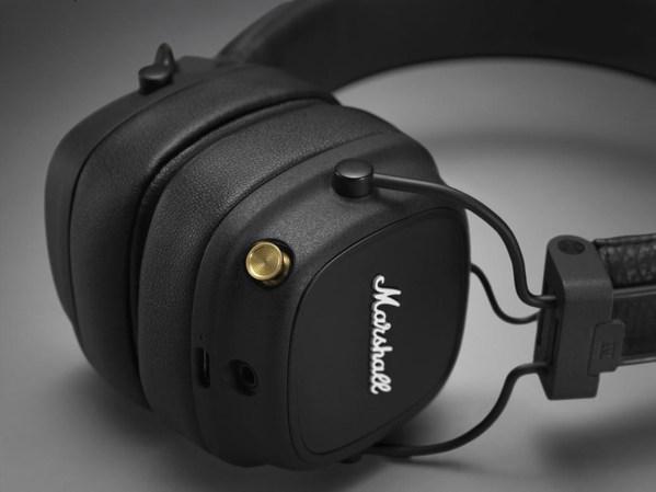 经典新生,摇滚传奇品牌Marshall发布全新 Major IV 耳机