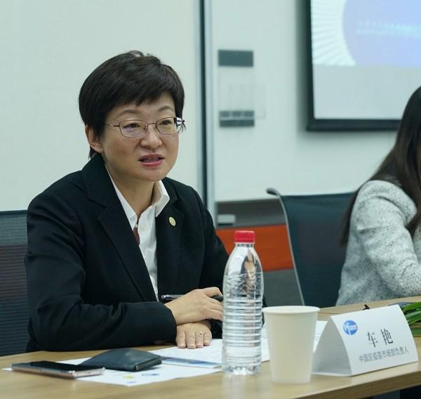 车艳 辉瑞生物制药集团中国区疫苗市场部负责人