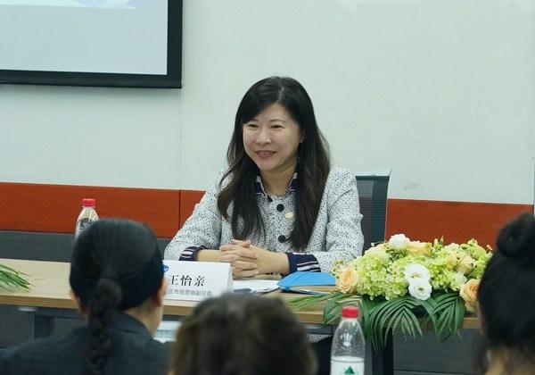 王怡亲 辉瑞生物制药集团中国区市场营销副总裁