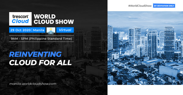 Trescon's World Cloud Show Driving Philippines to High-Level Path of Cloud Adoption in the 'New Normal'