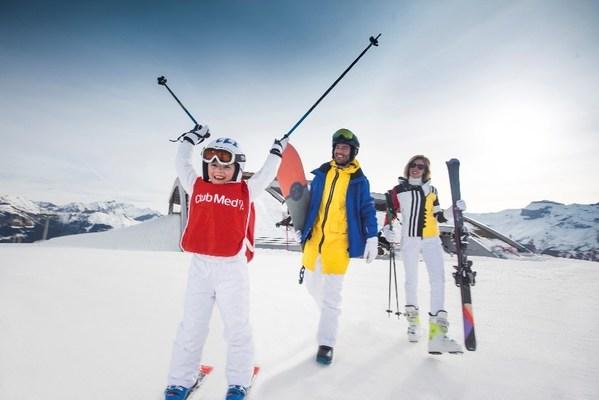 """全新微信小程序平台""""Club Med 全球精彩假期""""所提供的定制化主题度假套餐, 图为亚布力滑雪度假产品"""
