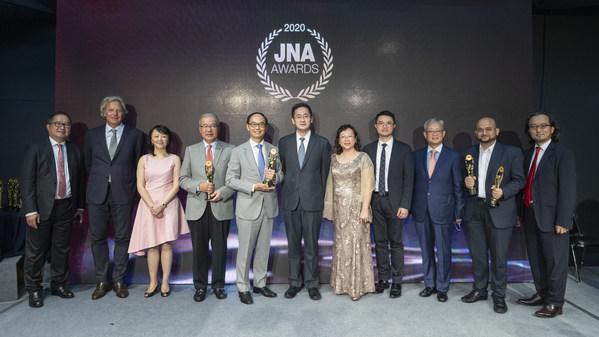 2020年JNA大奖在实体网络混合盛典嘉许全球杰出领袖