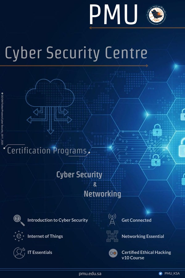 Cybersecurity offerings at Prince Mohammad Bin Fahd University