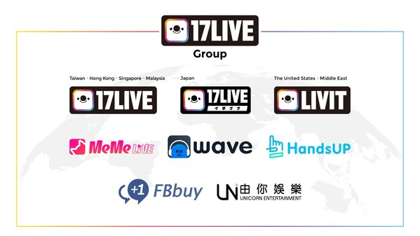 M17 Entertainment Limited changes its name to 17LIVE Inc. with new logo