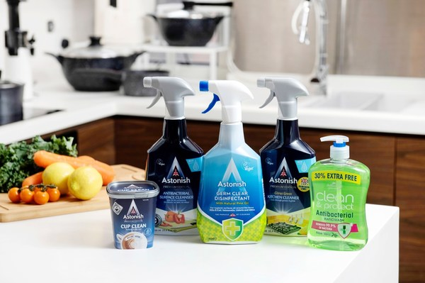 """British Cleaning Master"" Astonish officially debuts"