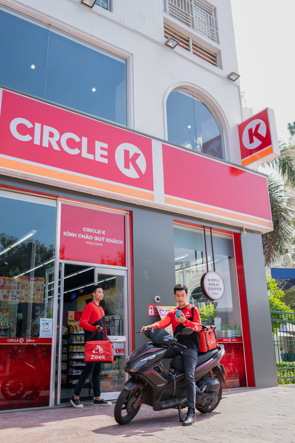 Zeek VN先以胡志明市10间Circle K为起步点,预期1年内可将线上业务覆盖至全线共400间分店。
