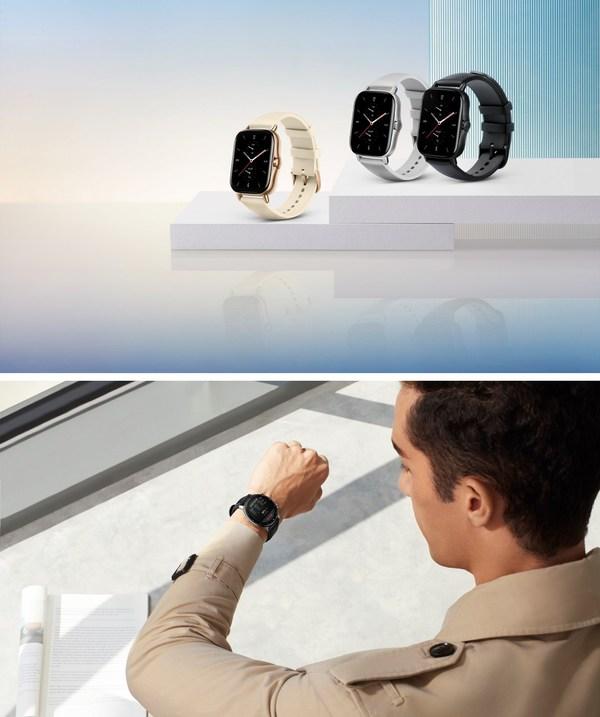 Jam tangan pintar klasik dan bergaya Amazfit GTR 2 dan Amazfit GTS 2 untuk gaya hidup aktif adalah sesuai untuk setiap penampilan dengan pelbagai ciri kesihatan yang komprehensif