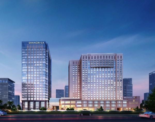 武汉香格里拉中心投入试营业