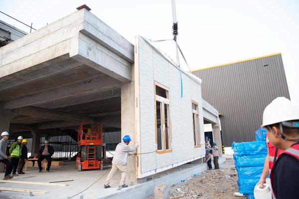 MPEC安装于预制混凝土结构