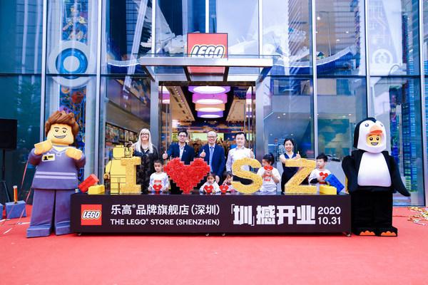 乐高®品牌旗舰店于深圳福田星河COCO Park打造又一玩乐新地标