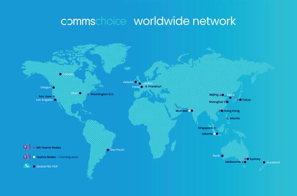 CommsChoice Worldwide Network Microsoft Teams