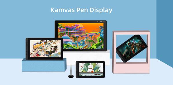 新一代移动创作平台 -- 绘王推出Kamvas12&16新晋性价比之王