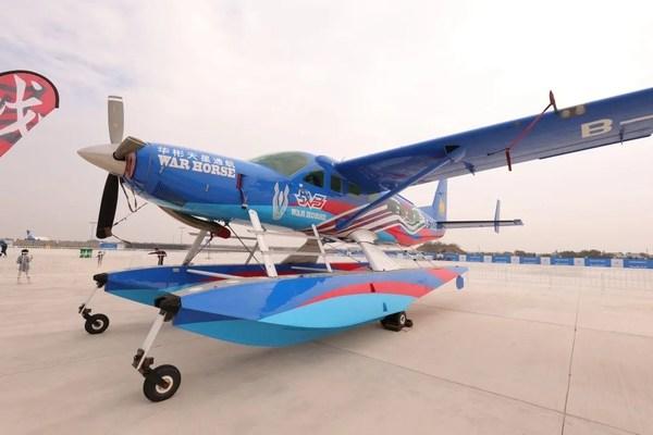 跨界破圈 戰馬直升機驚艷亮相助力2020南昌飛行大會